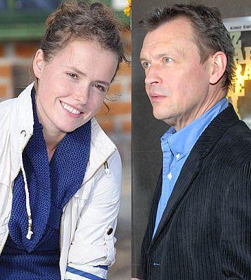 Olga Frycz ma żal do ojca
