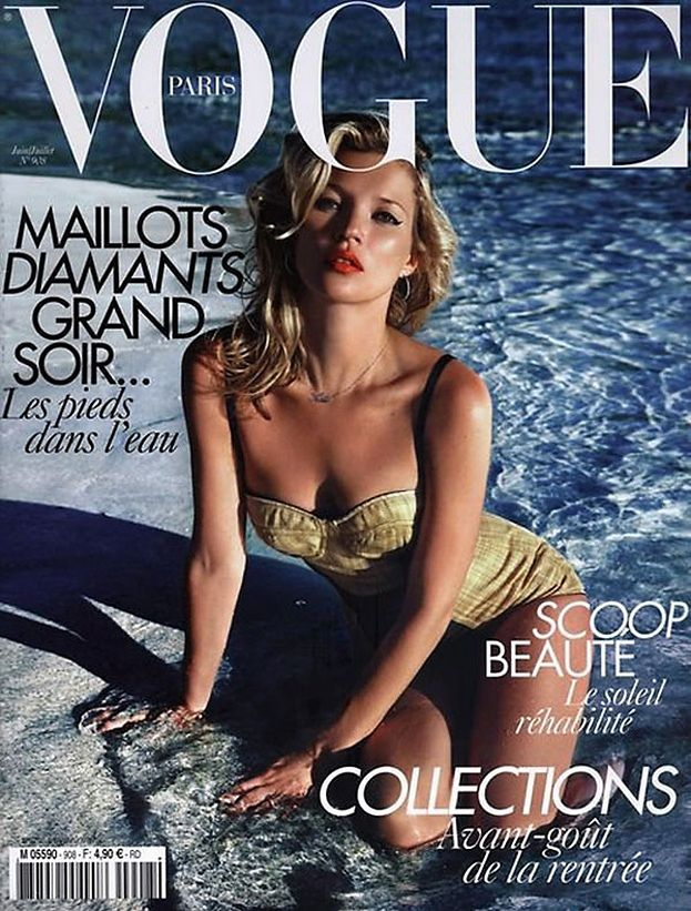 Kate Moss w samym bikini!