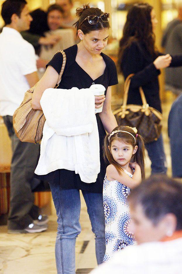"""Katie Holmes: """"Suri nie będzie miała rodzeństwa"""""""
