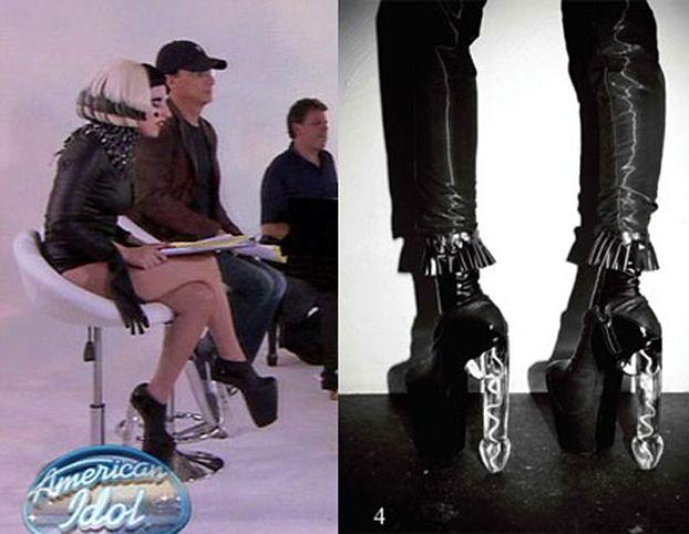 Ocenzurowano buty Lady Gagi!
