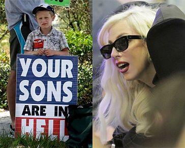 """""""Bóg nienawidzi Lady GaGi!"""""""