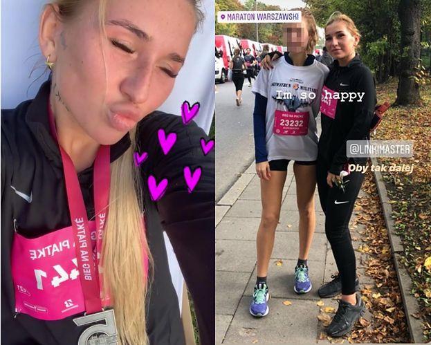 """Marta Linkiewicz ekscytuje się udziałem w Maratonie Warszawskim: """"Nigdy nie pomyślałabym o jakichś biegach. Będę płakać, JESTEM TAKA DUMNA"""" (FOTO)"""