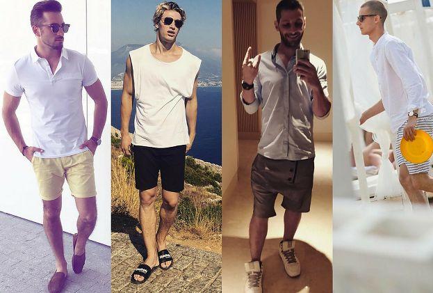 Szorty męskie - trendy na lato