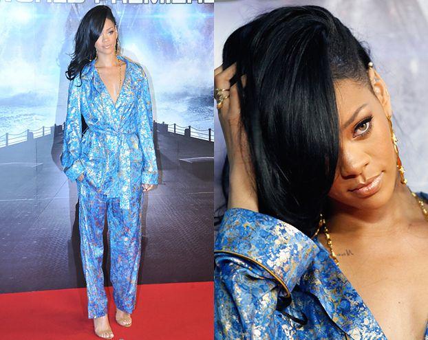 Rihanna w piżamie? (FOTO)