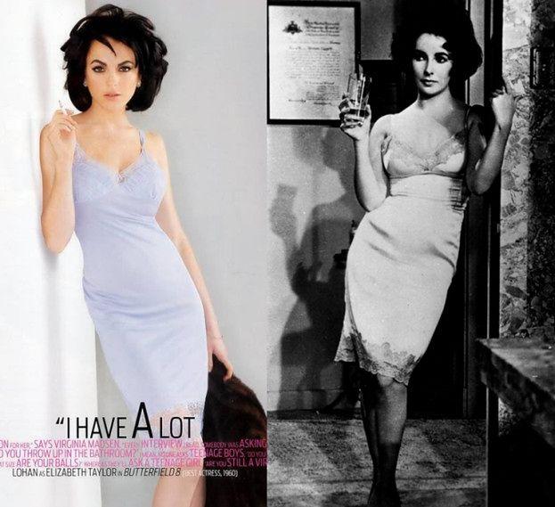 Lindsay zagra... Elizabeth Taylor?!