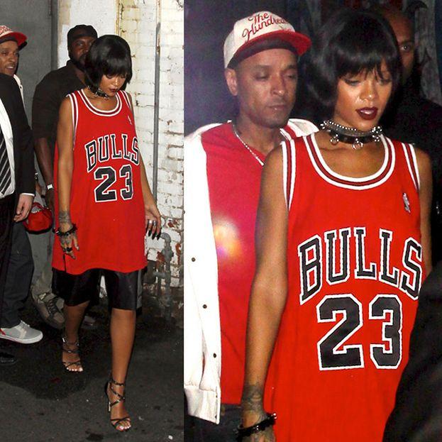 "Rihanna w ""koszulce Jordana""!"