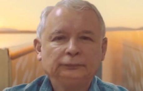 Jarosław Kaczyński też robi SZPAGAT MIĘDZY TIRAMI!