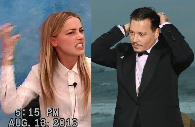 """Johnny Depp ma nowego sojusznika w walce z Amber Heard. """"Widziałam ją z bliska, nie miała ŻADNYCH SINIAKÓW"""""""