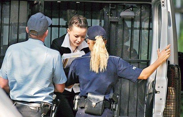 Waśniewska spędza święta w celi