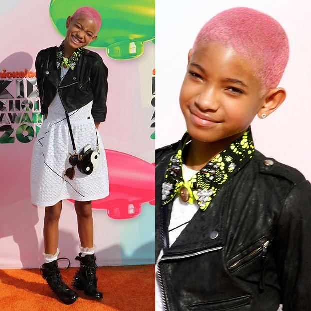 Willow Smith z różowymi włosami!