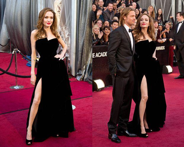 Wychudzona Angelina na Oscarach (SEXY?)