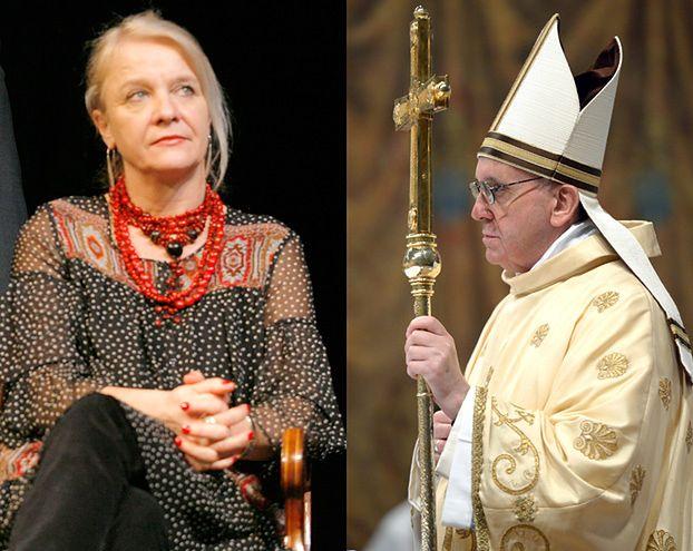 """Nazwała papieża """"CHUJEM"""", teraz jest oburzona! """"TO RYNSZTOK!"""""""