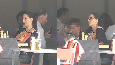 Ciężarna Steczkowska na obiedzie z synem!