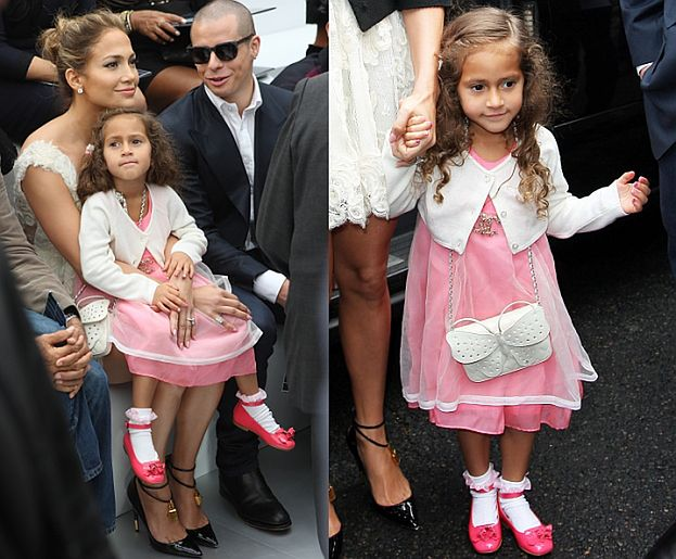 4-letnia córka Jennifer Lopez z torebką za 8000! (ZDJĘCIA)