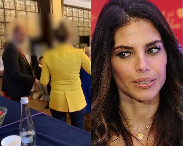 TYLKO NA PUDELKU: Była partnerka Roberta Śmigielskiego nie chce oddać mikrofonu na Kongresie Kobiet (WIDEO)