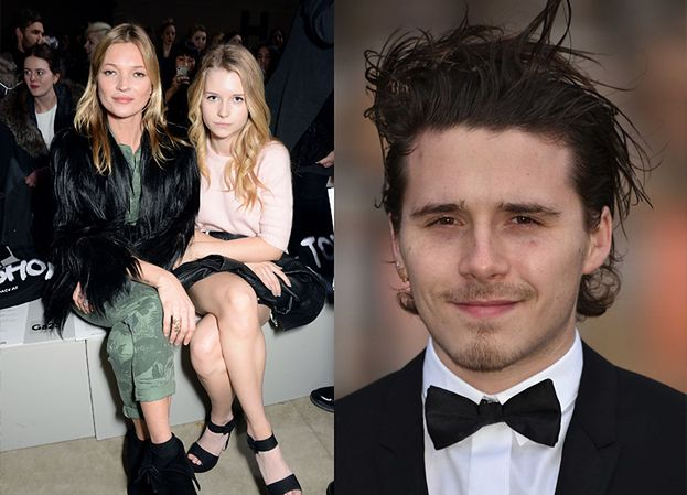 """Kochliwy Brooklyn Beckham miał sekretny romans z siostrą Kate Moss! David i Victoria """"SĄ ZANIEPOKOJENI"""""""