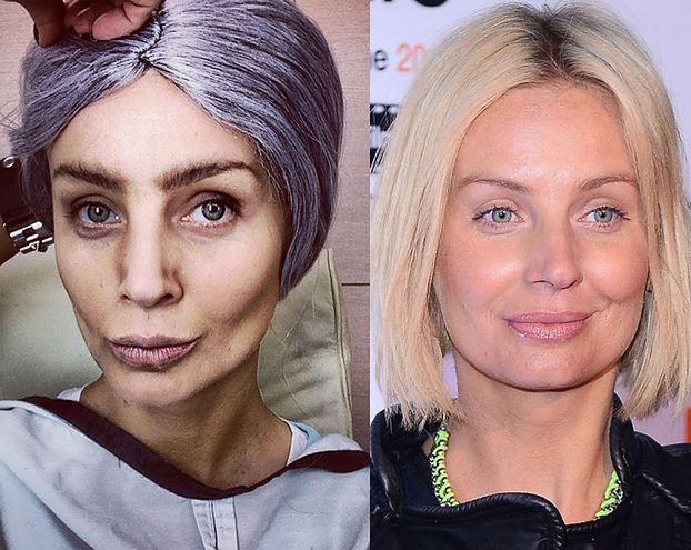 Agnieszka Szulim jako staruszka! (ZDJĘCIA)
