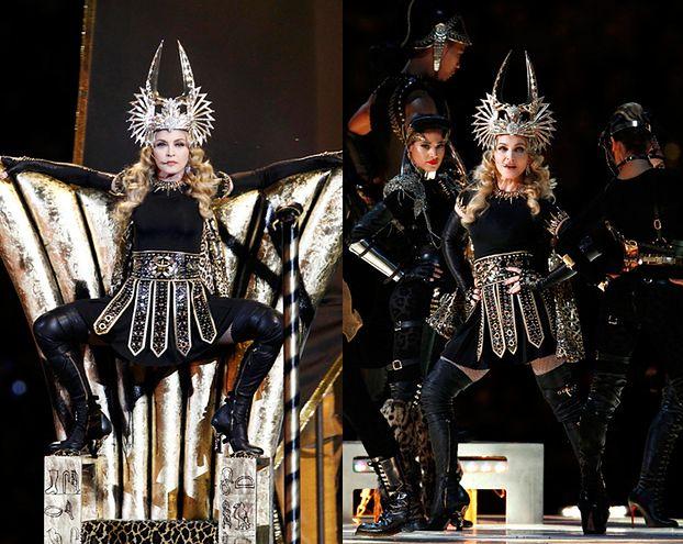 WIELKIE SHOW Madonny na Super Bowl! (FOTO + WIDEO)
