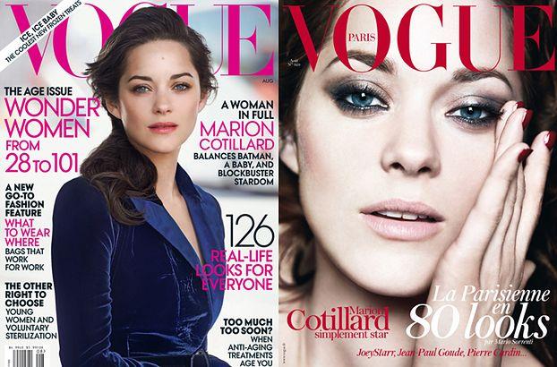 "Gwiazda ""Batmana"" na dwóch okładkach ""Vogue'a""!"