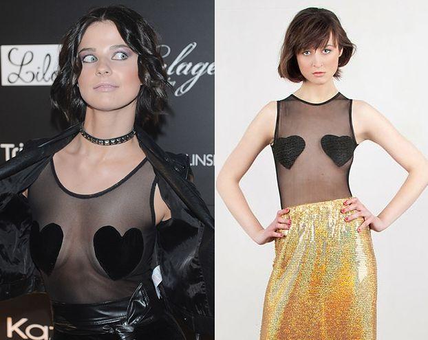 """""""Top modelka"""" splagiatowała tę bluzkę! (FOTO)"""
