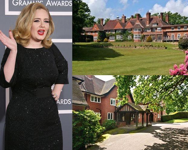Adele kupiła dom za 35 MILIONÓW! (Ładny?)