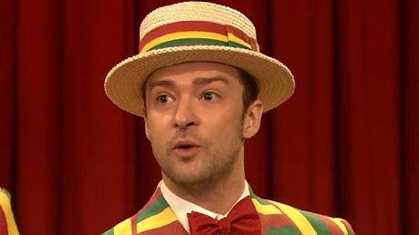 Timberlake śpiewa Sexy Back w nowej aranżacji!