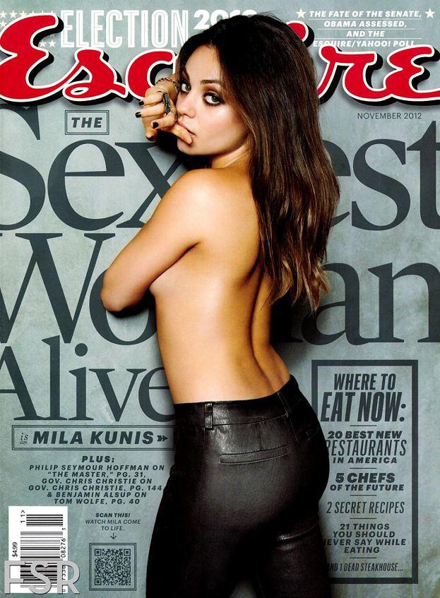 """Mila Kunis """"Najseksowniejszą żyjącą kobietą""""!"""