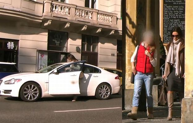 PUDELEK.TV: Kinga Rusin blokuje auta...
