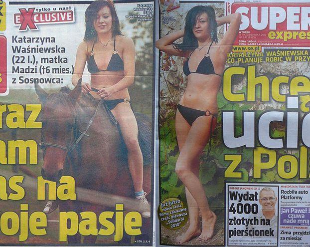 """Waśniewska: """"NIE TAŃCZYŁAM NA RURZE!"""""""