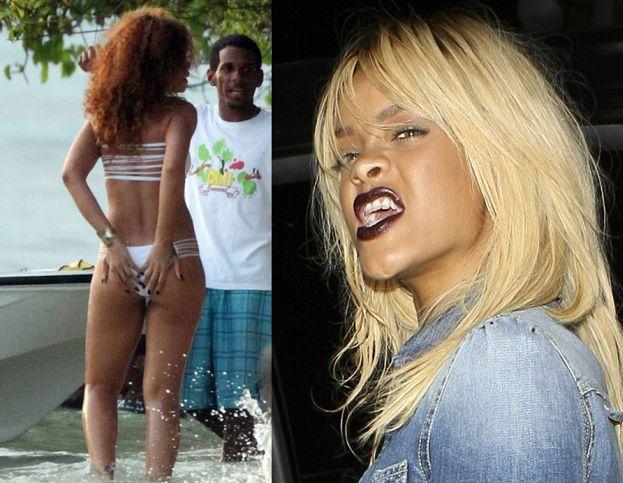 """Rihanna: """"Dzisiaj CZUJĘ SIĘ GRUBA, i już!"""""""