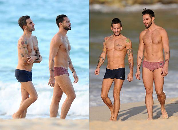 """Marc Jacobs na plaży z """"byłym""""! SEKSOWNI?"""