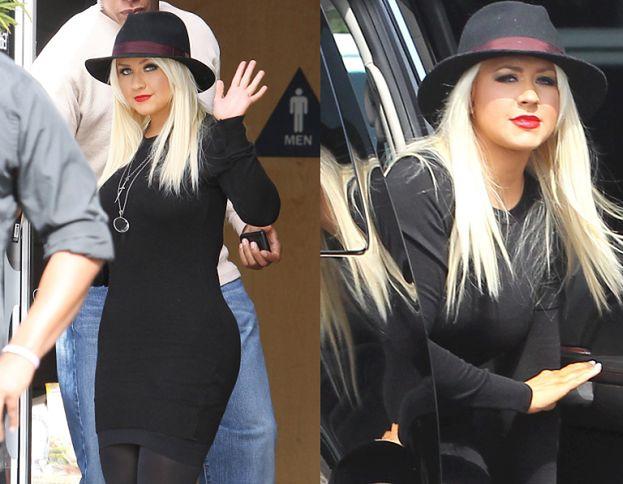 Aguilera nadal chudnie?