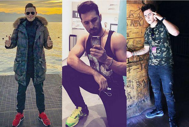 Kolorowe buty sportowe w stylizacjach celebrytów