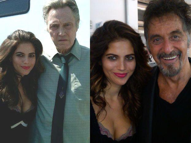 Rosati zagra z Alem Pacino i Walkenem! (FOTO)