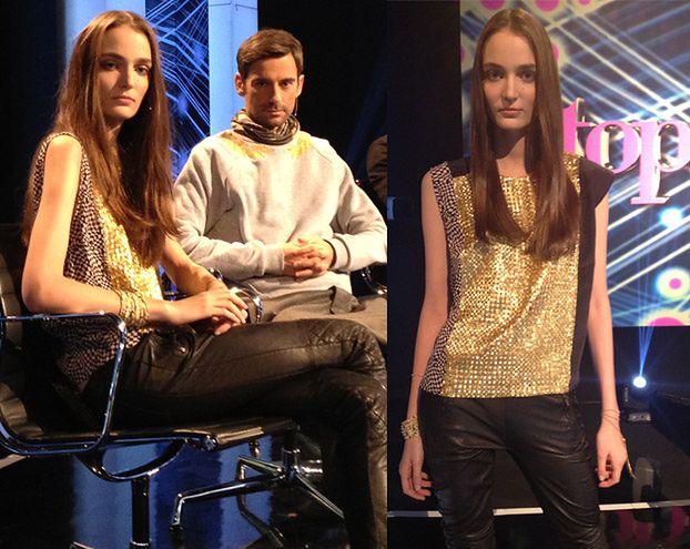 """Zuzanna Bijoch w """"Top model""""! (ZDJĘCIA)"""