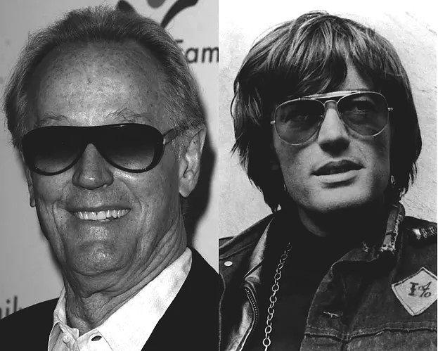 """Nie żyje Peter Fonda, pochodzący ze znanej aktorskiej rodziny gwiazdor """"Swobodnego jeźdźca""""!"""
