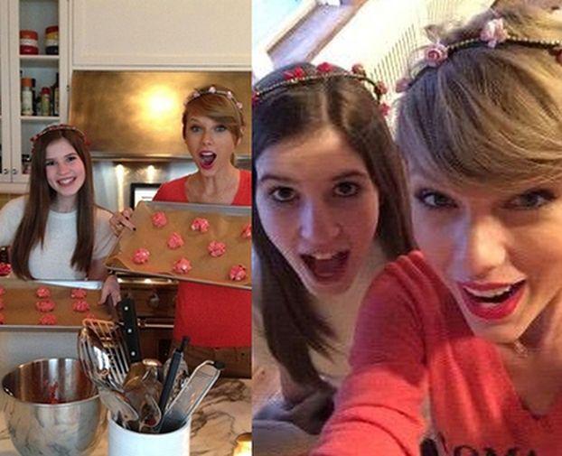 Taylor Swift spędziła Walentynki z fanką!