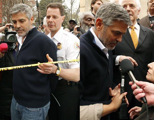 George Clooney ARESZTOWANY! (ZDJĘCIA)