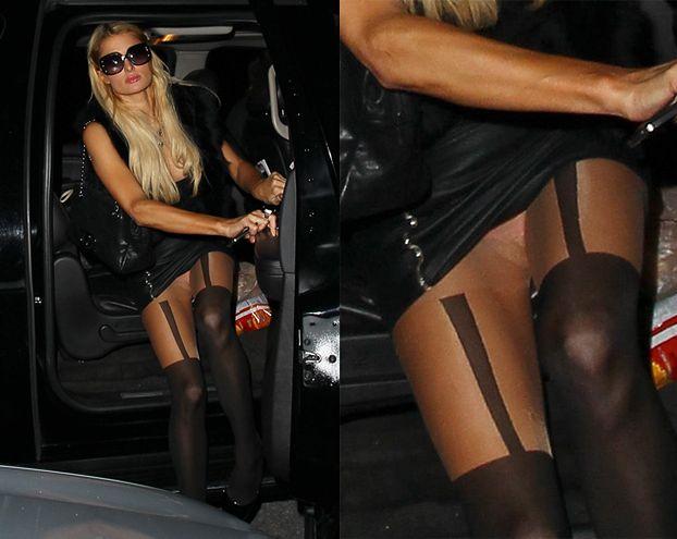 Paris Hilton pokazała majtki (ZDJĘCIA)