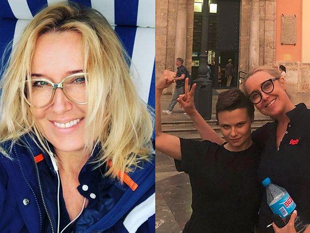 """Agata Młynarska wysyła pocztówkę z wakacji z siostrzenicą i jej żoną: """"Family power!"""""""