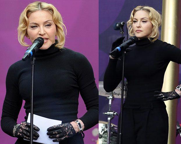 """NOWA twarz Madonny! """"Wygląda, jakby się STOPIŁA"""" (ZDJĘCIA)"""