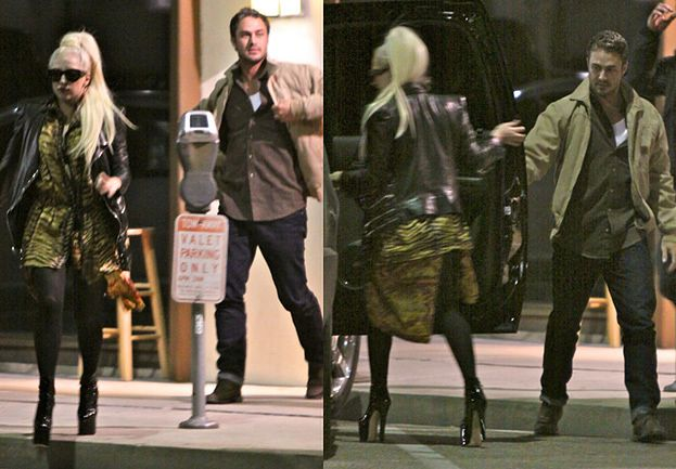 Lady Gaga z chłopakiem (ZDJĘCIA)