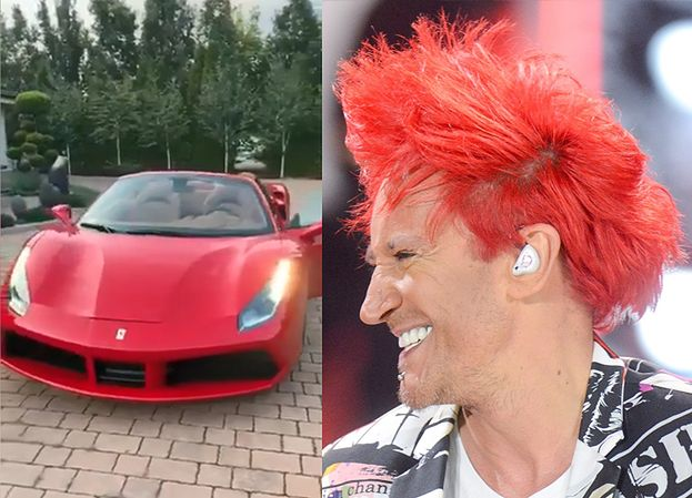 """Michał Wiśniewski UDAJE, że kupił synowi Ferrari na urodziny? """"Wszystkiego najlepszego, Xavier!"""""""