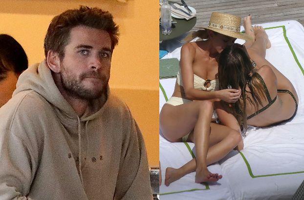 """Zdjęcia Miley z kochanką na jachcie """"ZŁAMAŁY SERCE"""" Liamowi. """"Był niemile zaskoczony"""""""