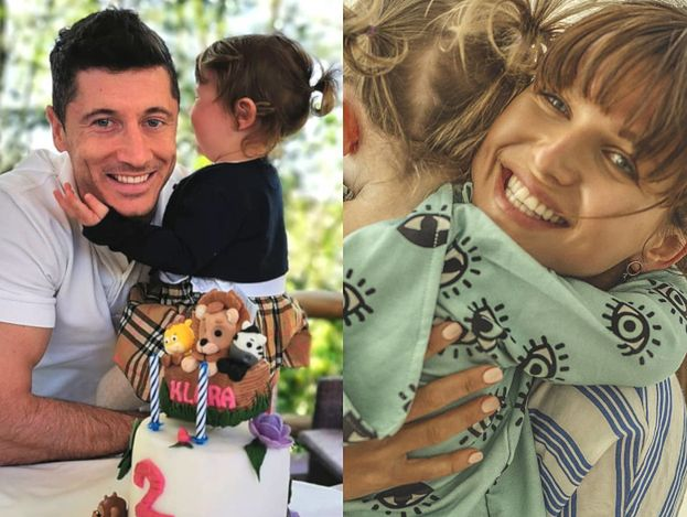 """Lewandowscy świętują urodziny Klary: """"Dwa latka pięknego, bezwarunkowego szczęścia i miłości"""""""