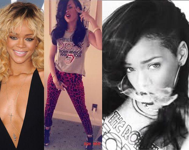 Rihanna znowu brunetką! (FOTO)