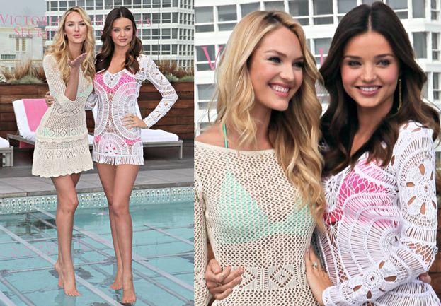 Miranda i Candice reklamują stroje kąpielowe (ZDJĘCIA)