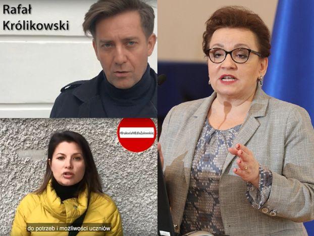 """Aktorzy """"M jak Miłość"""" chcą zablokować kandydaturę Anny Zalewskiej do Parlamentu Europejskiego. """"Powinna ponieść konsekwencje"""""""