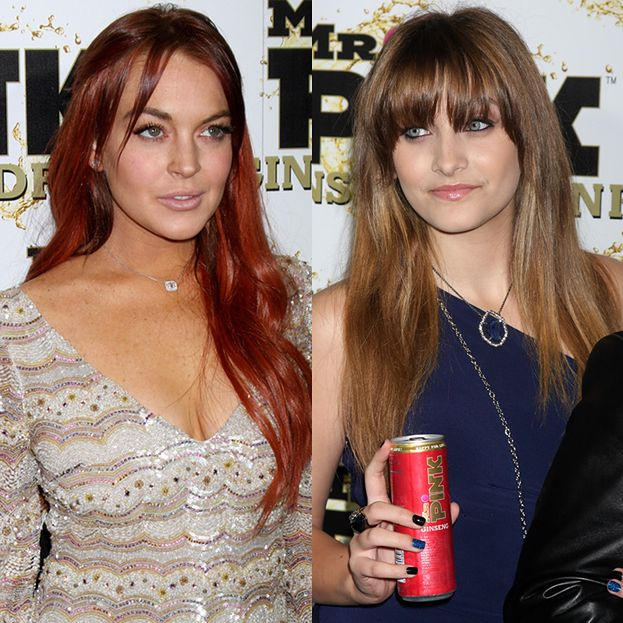 Paris Jackson i Lindsay Lohan na imprezie!