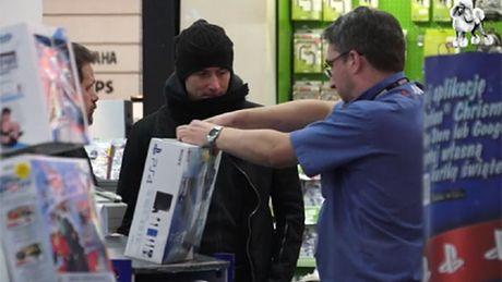 Lewandowski na świątecznych zakupach!